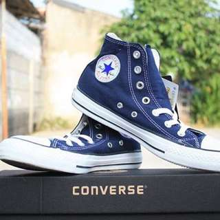 Converse original high blue