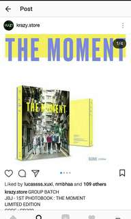 JBJ THE MOMENT PHOTOBOOK