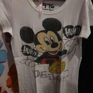 kaos mickey mouse