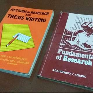 College textbook guide for thesis writing