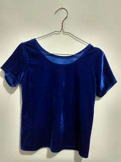 Blouse Blue Electric
