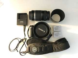 Canon 550D (T2i) Bundle for SALE