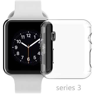 -instock- JANSIN Apple iwatch series 3 case + front