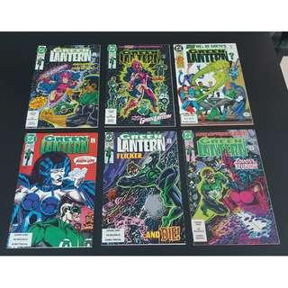 Green Lantern #20-25 (1990, 2nd Series) Set of 6