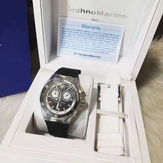 Technomarine Women's Cruise Sport Chronograph Watch TM115335
