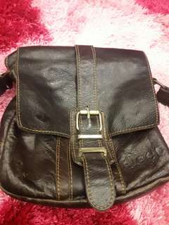 JEEP Sling bag leather