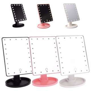 LED Touch Screen Make Up Portable