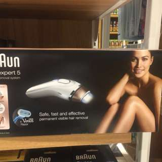 Braun hair removals
