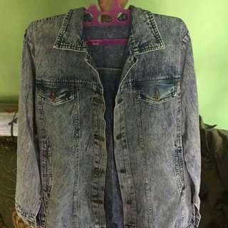 Jacket denim oversize
