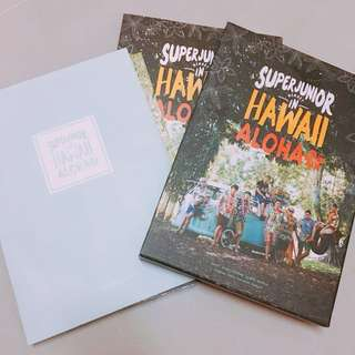 SUPER JUNIOR HAWAII ALOHA PHOTO BOOK