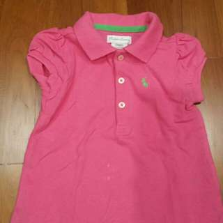 Baby Ralph Lauren Polo Tee (12 months) - pre loved