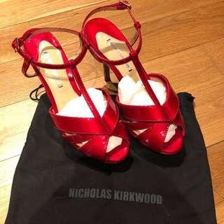 Authentic Nicholas kirkwood designer high heels