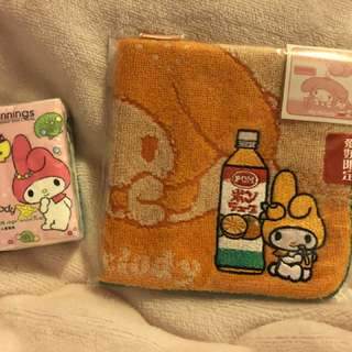 ⛩Sanrio my melody 日本 愛媛限定 毛巾 方巾
