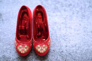 Wedding Red Shoes