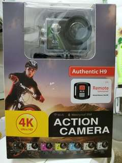 4K Ultra HD Authentic H9 Action Camera