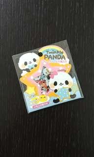 Twinkle Panda Stickers