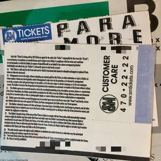 PARAMORE TICKETS AUGUST 23