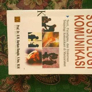 Buku Sosiologi Komunikasi #FISIPUNIS