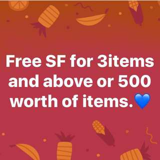 Free Shipping Fee