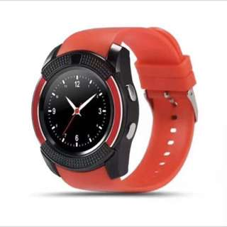 Round smart watch