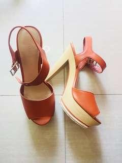Charles & Keith Brown heels