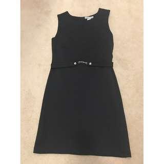 Liz Jordan Black Dress Size 10 Work Corporate Excellent Condition