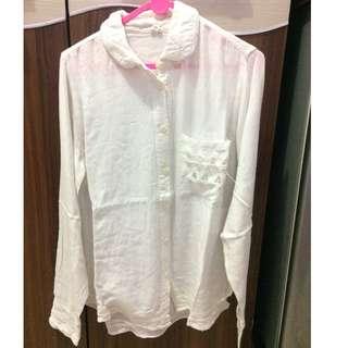 shirt/blouse putih