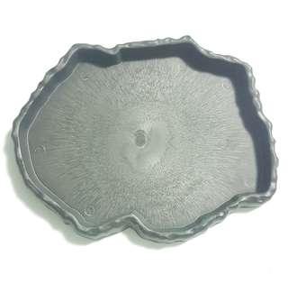 Petrified Wood Water Dish