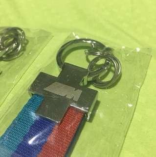 BNIB Brand New BMW Car Keychain M Colour