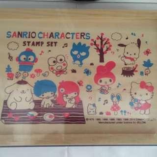 Sanrio : hello kitty/ little twin stars / pc狗/ pochacoo/ pompompurin布甸狗/ xo/ 水怪/ melody/ keroppi 木盒/ 盒子
