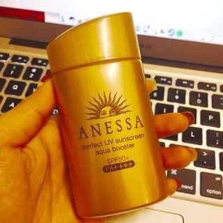 ANESSA UV sunscreen aqua booster SPF50+