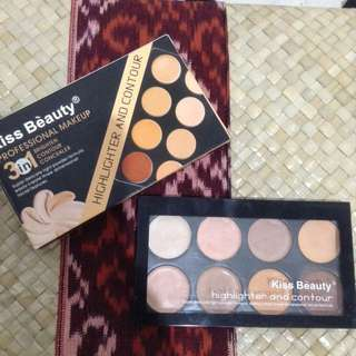 Kiss Beauty Highlight And Contour