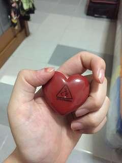 3CE HEART POT LIP TINT