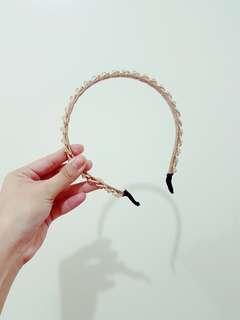 Gold Beaded Headband (Pre-Loved)