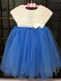 Crochet tutu dress (all size available)