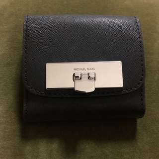 Michael Kors trifold coin wallet