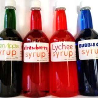 Flavored syrup