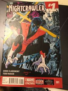 Marvel Nightcrawler #1