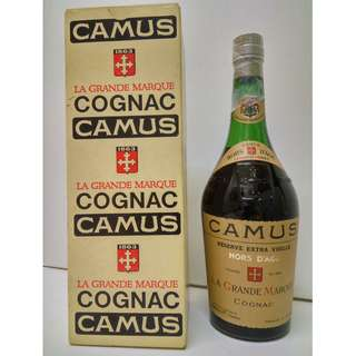 Camus Hors D'age with original box 1970s