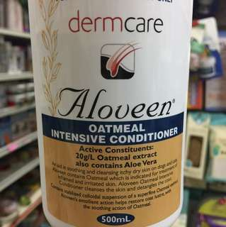 Dermcare Aloveen Oatmeal Conditioner 500ml