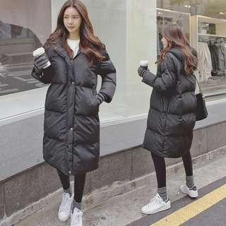 BLACK PUFFER WINTER JACKET