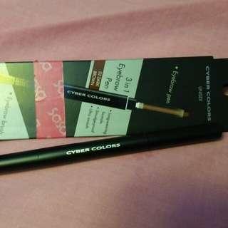 CYBER colors 3 in 1 eyebrow pen (dark brown)