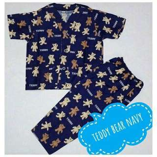 Piama Anak - Teddy Bear Navy