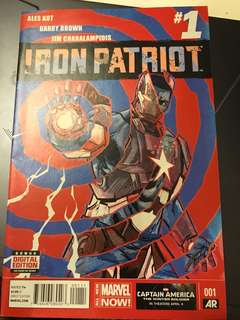 Marvel Iron Patriot #1