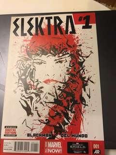 Marvel Elektra #1