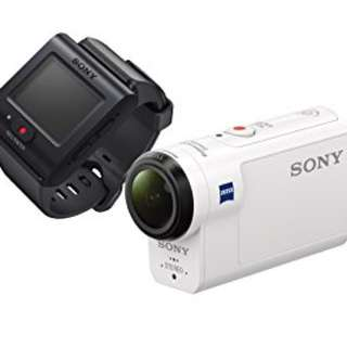 Sony FDR-X3000R Action Camera with Live View Remote