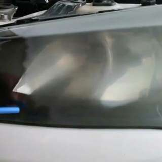 Headlamp coating chemical