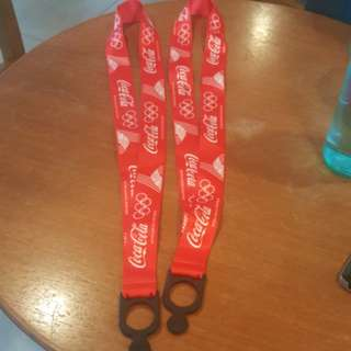 [BN] Coca cola bottle lanyard