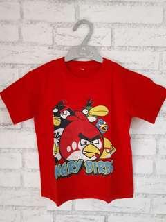 #MakinTebel Kaos anak Angry Bird