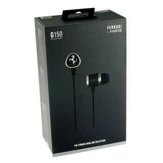 Logic 3 ferrari G150 earphone